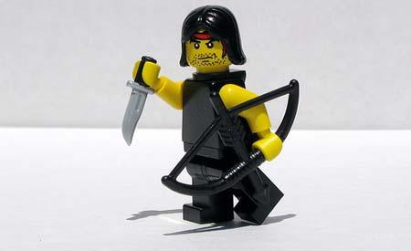 Rambo in Lego