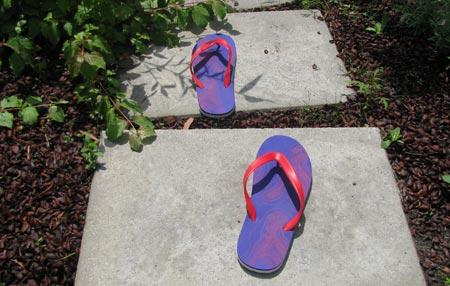 Gravis slippers