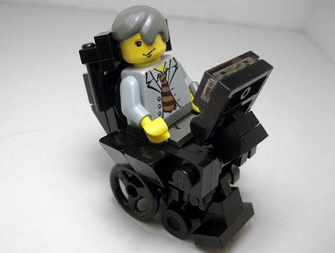 Stephen Hawking in Lego