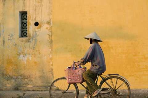 Op de fiets in Vietnam